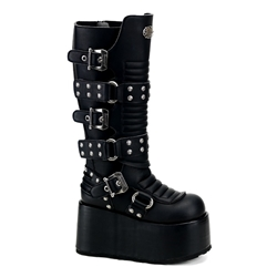 Ripsaw Buckle Knee Boots 34-3258