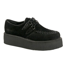 V-Creeper Veggie Suede Platform Shoes 34-3283