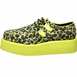 V-Creeper Animal Print UV Platform Shoes 34-3284
