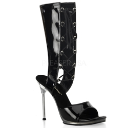 Mid-Calf Lace Up Bootie Sandal
