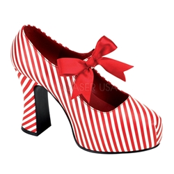 Candycane Mary Janes
