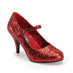 Ruby Glitter Slippers