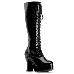 Lace-Up Exotica Boots