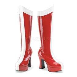 Red Exotica Boots