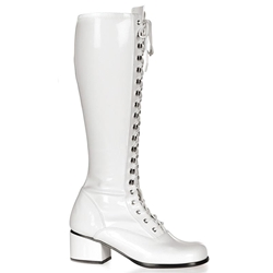 Retro Lace-Up Boots 34-4219