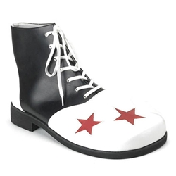 Men's Star Toe Clown Shoes