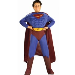Superman Returns Deluxe Muscle Chest Child Costume 38-20138