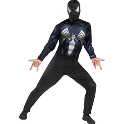 The Amazing Spider-Man Black-Suited Spider-Man Adult Costume 38-32932