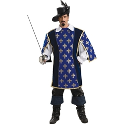 Designer Collection Musketeer Adult Costume 38-60517