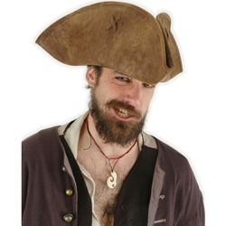 Pirates of the Caribbean - Jack Sparrow Adult Hat 38-61366