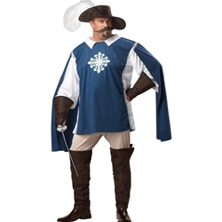 Musketeer Adult Plus Costume 38-800196