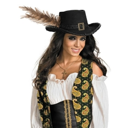 Pirates Of The Caribbean - Angelica Deluxe Pirate Hat (Adult) 38-800256