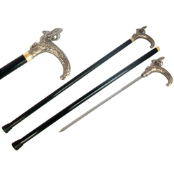 Rams Head Cane Sword 40-901124