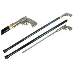 Pistol Walking Cane Sword 40-901125