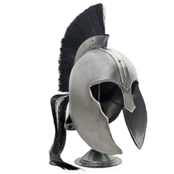 Trojan Helmet Plume and Stand