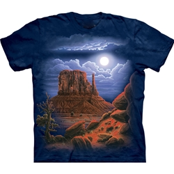 Desert Nightscape Adult T-Shirt