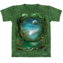 Moon Tree Adult T-Shirt 43-1012501
