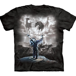 Summoning the Storm Adult T-Shirt 43-1013210