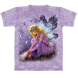Purple Winged Fairy Adult T-Shirt 43-1013331