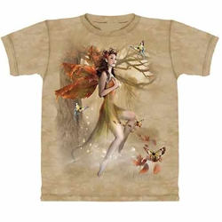 Fairy In Forest Meadow Adult T-Shirt 43-1013801