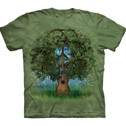 Guitar Tree Adult T-Shirt 43-1031990