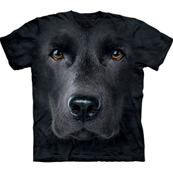 Black Lab Face Adult T-Shirt 43-1032550