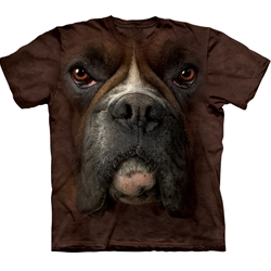 Boxer Face Adult T-Shirt 43-1032570