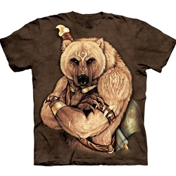 Tribal Bear Adult T-Shirt 43-1032700