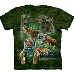 Jungle Tigers Adult T-Shirt 43-1033010