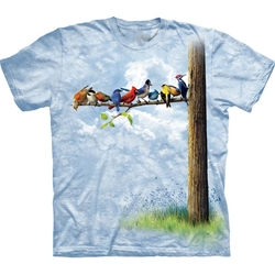 Bird Tree Adult T-Shirt 43-1033130