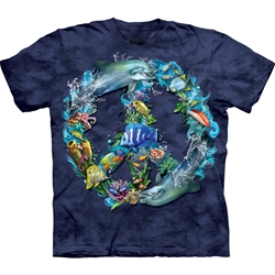 Underwater Peace Adult T-Shirt 43-1033440