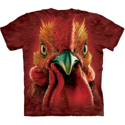 Rooster Head Adult T-Shirt 43-1033480