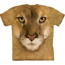 Mountain Lion Adult T-Shirt 43-1033640
