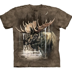 Moose Forest Adult T-Shirt 43-1033660