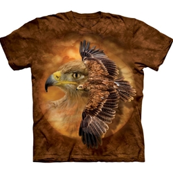 Tawny Eagle Spirit Adult T-Shirt 43-1034050