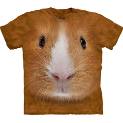 Guinea Pig Face Adult T-Shirt 43-1034440