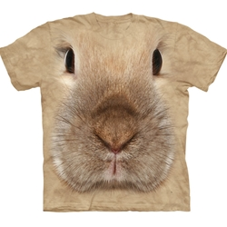 Bunny Face Adult T-Shirt 43-1034460