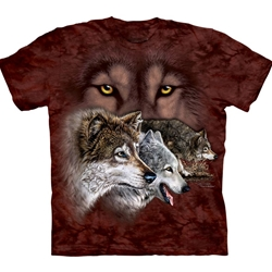 Find 9 Wolves Adult T-Shirt 43-1034590