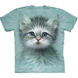 Blue Eyed Kitten Adult T-Shirt 43-1034650