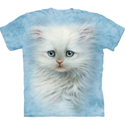 Fluffy White Adult T-Shirt 43-1034670