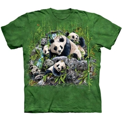 Find 13 Pandas Adult T-Shirt 43-1034890
