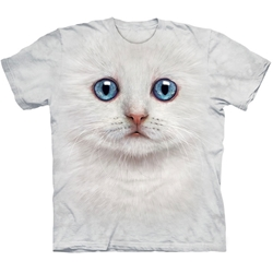 Ivory Kitten Face Adult T-Shirt 43-1035040