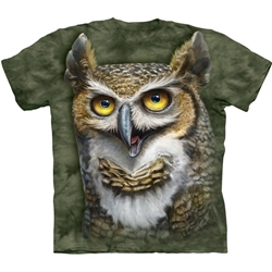 Wise Owl Adult T-Shirt 43-1035230