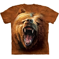 Grizzly Growl Adult T-Shirt 43-1035260