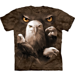 Eagle Moon Eyes Adult T-Shirt 43-1035750