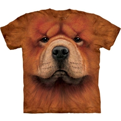 Chow Chow Face Adult T-Shirt