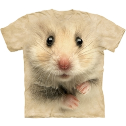 Hamster Face Adult T-Shirt