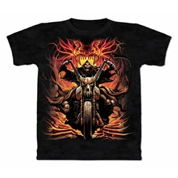Grim Rider Adult T-Shirt