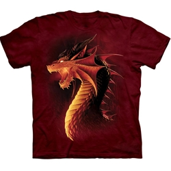 Red Dragon Adult T-Shirt