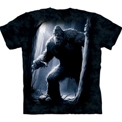 Sasquatch Bigfoot Adult T-Shirt